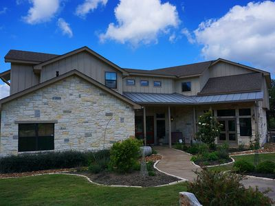 Photo for Gorgeous Hill Country Home - Sleeps up to 10 with views and amazing outdoor space!