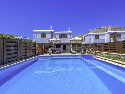 Photo for Lindos Sapphire-Set above the beautiful village of Lindos with mesmerising views