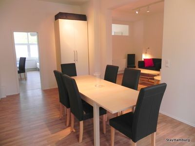 Photo for Modern 4.5-bedroom apartment for up to 10 people, Wi-Fi included