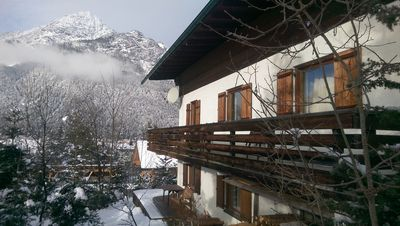 Photo for Spacious and quiet holiday home in Leutasch, 500 meters to the trail, toboggan run
