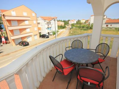 Photo for One bedroom apartment with terrace Pašman