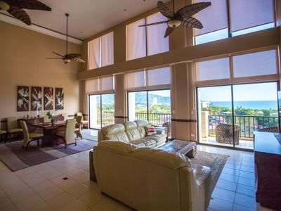 Photo for Jaco Beach Penthouse Ocean View  4 BR with 3.5 BTH for 10 Guests in Costa Rica