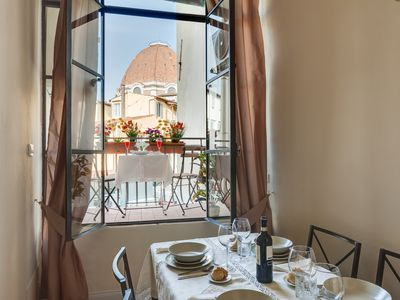 Photo for Beautiful Apartment  In The Very Hearth Of Florence With Extraordinary View