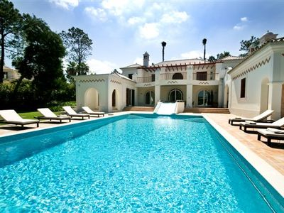 Photo for Quinta do Lago villa with heatable pool and games room PV02