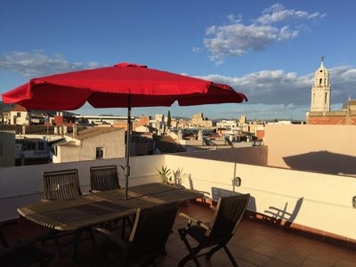 Photo for Big Beautiful Penthouse Sleeps 4 Large Private Roof Terrace WiFi HUTB: 015011-04