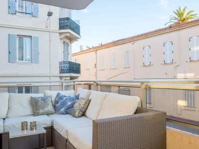Photo for Orangina - Nice and well furnished apartment with large balcony facing south
