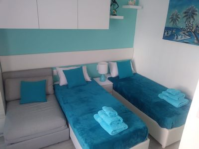 """Photo for BLUE HAWAII - apt. """"Caribbean Cocktails"""" - in a brand new resort CORAL VILLAGE"""