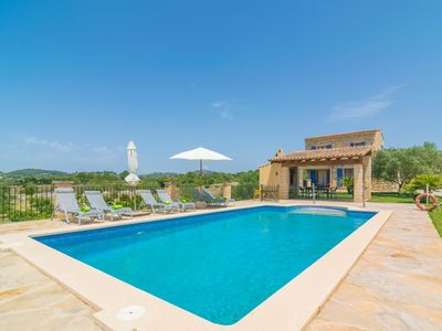 Photo for SON GENER - Villa with private pool in SON SERVERA.