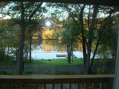 """Photo for Rock River Waterfront Retreat - the """"up North feel"""" without the hours of travel"""