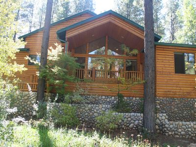 Photo for Beautiful Private Pinetop CC Cabin In Quiet Cul-de-sac Lot