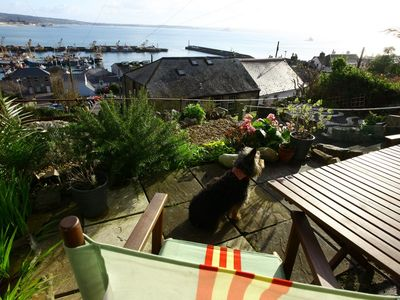 Photo for Spectacular views across Newlyn's fishing harbour