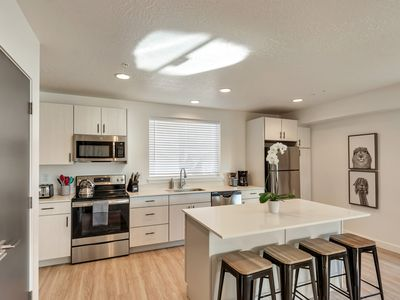 Photo for Moroccan Mountain Downtown SLC Townhome: 2 Suites / 2.5 Baths / Garage