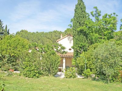 Photo for Charming hunting lodge as a holiday home with a large garden near fisherman's village