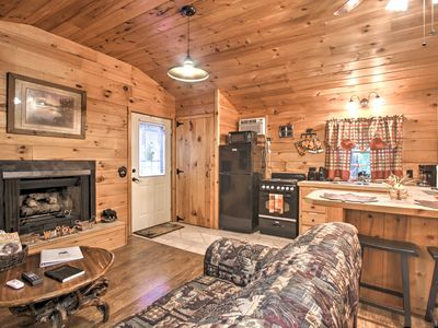 Photo for Cozy & Quiet Sevierville Studio w/ Deck & Fishing!
