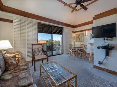 Photo for Relaxing Suite w/Lanai, Upgraded Kitchen, Ceiling Fans, WiFi–Kiahuna Plantation #2416