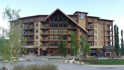 Photo for White Pine Lodge! Ski in/Ski out. In Village. Views of Lake and mountain