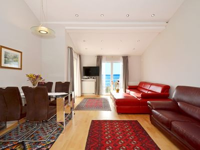 Photo for ROCCO 2 apartment with sea view, 2 bedrooms, 2 bathrooms, 150m from the beach