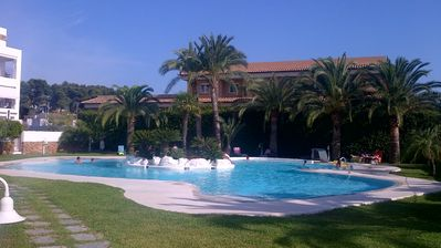 Photo for Luxury town penthouse, own pool, seaviews.