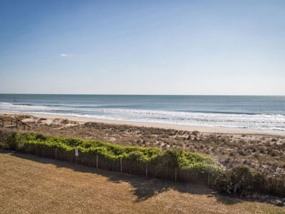 Photo for Oceanfront End Unit Views Galore, Great price, FREE WIFI. Awesome Pool, Great Location! Linen in...