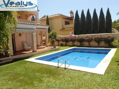 Photo for Superb villa 6 bedrooms capacity 15 pers in the heart of Puerto Banus