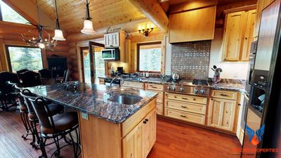 Photo for Luxury Log Home Retreat; Quiet Location! Angel Haven West