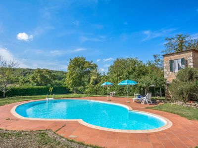 Photo for Vacation home Il Valacchio  in Sovicille, Siena and sourroundings - 4 persons, 2 bedrooms