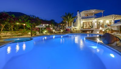 Photo for Luxurious villa with panoramic view of sea, mountains and neighbour islands