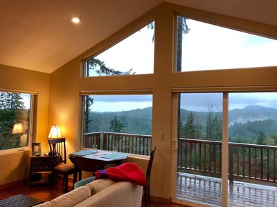 Photo for Newly Built Cabin with Stunning Views. Close to Town, Secluded and Private