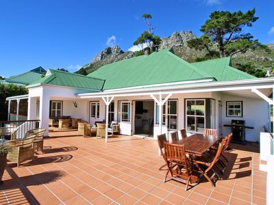 Photo for Lovely home with stunning mountain views in Hout Bay