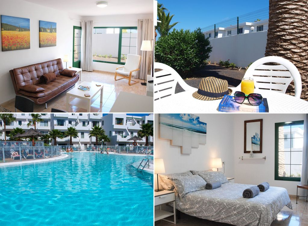 Beautiful, spacious 1 bed apartment with free Wifi, UK TV and private  terrace - Puerto del Carmen