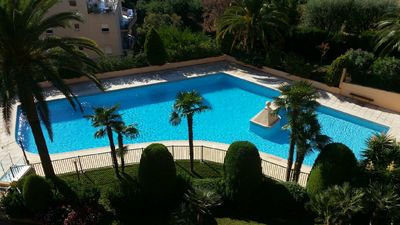 Photo for Studio 28 m² on the 4th floor in quiet residence with swimming pool