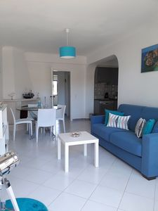 Photo for Cozy apartment 2 bedrooms, in gated community with garden, large pool, tennis