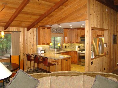 This home exudes mountain cabin charm!