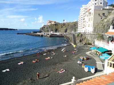 Photo for Wonderful Romantic Style Holiday House on the beach with WiFi in Tenerife!