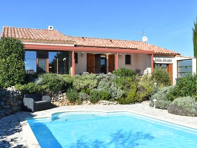 Photo for Villa with guest house, heated private pool and sauna, walking distance to the village