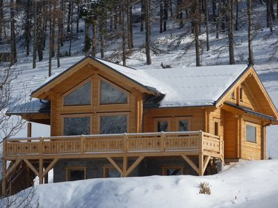 """Photo for NEW CHALET """"Astragalus"""" 20 PEOPLE"""