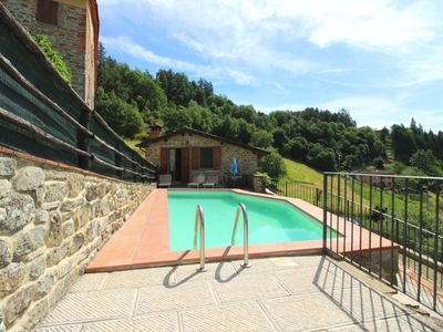 Photo for Stone farmhouse in a very panoramic position over the Casentino Valley, 2 bedrooms, 2 bathrooms, Wi-