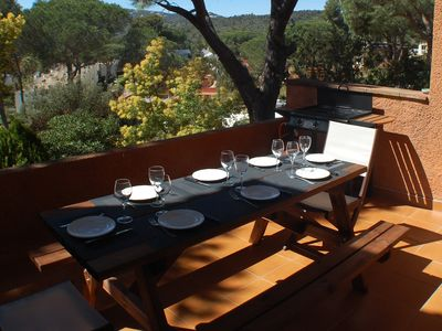 Photo for House Adosada 8 pers. Platja d'Aro in a wooded residence