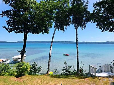 Photo for New! Gorgeous Waterfront 3 Bedroom Rental on Glen Lake