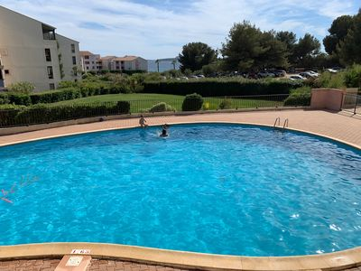 Photo for Superb T2 with free pool, 300m sea