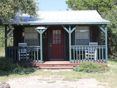Photo for 1BR Cabin Vacation Rental in Leakey, Texas