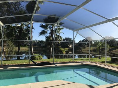 Photo for **New April 2019 Updates** Modern Water Front Home with Private Swimming Pool