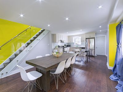 Photo for 5☆ - BRIGHT Modern 3BR in Christie Pitts