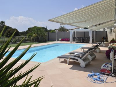 Photo for Villa Lyce in Roquebrune / Argens, single storey, private swimming pool, ch. conditioned.