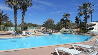 Photo for Mobils in 1 st line, sea views, direct access to the sandy beach, in 3 * campsite