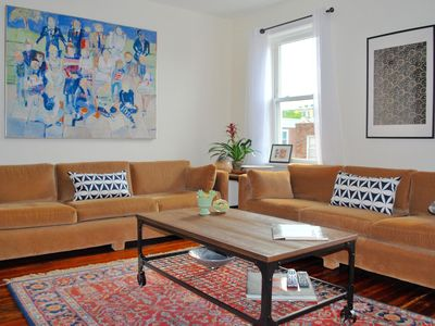 Photo for Huge, Sunny, Newly Renovated Bi Level Apartment