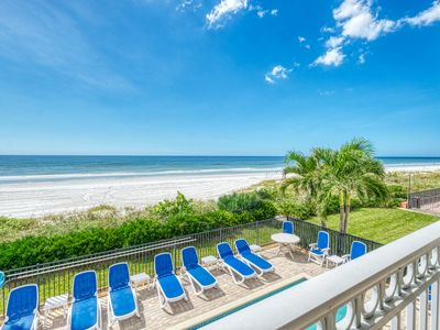 Photo for BEAUTIFUL 3 BEDROOM TOWN HOME W/ ELEVATOR,  DIRECTLY ON THE BEACH!