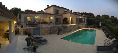 Photo for Spacious and Relaxing - Views, 5 minutes to Valbonne, air conditioning