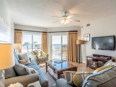 Photo for Beautifully Decorated Gulf Front Emerald Isle Condo with Great Beach Views!
