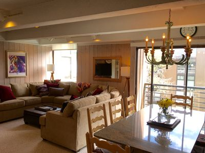 Photo for Gorgeous 2017 Updated Condo, Short Walk To Lifts, Fireplaces, Balconies, Views!
